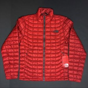 North Face Thermoball Jacket Medium Red